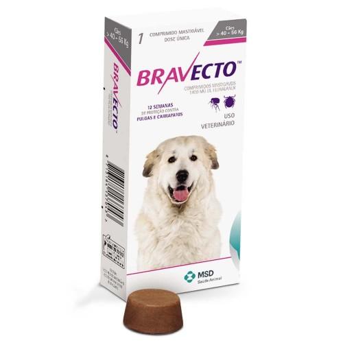 Бравекто жевательная таблетка для собак 40-56 кг