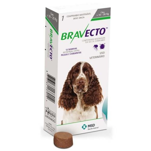 Бравекто жевательная таблетка для собак 10-20 кг