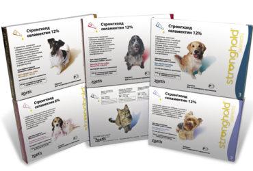 Стронгхолд – капли от блох, клещей для кошек и собак